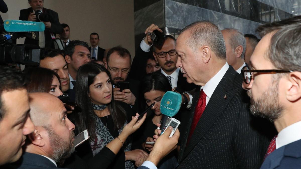 Son dakika... Erdoğan'dan Trump'a soru işareti Arınç'a tepki!