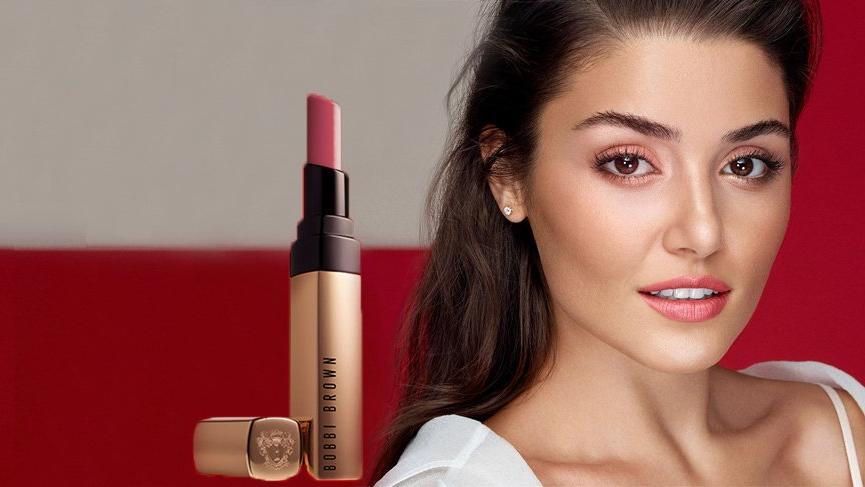 Hande Erçel ünlü kozmetik markasının kampanya yüzü oldu