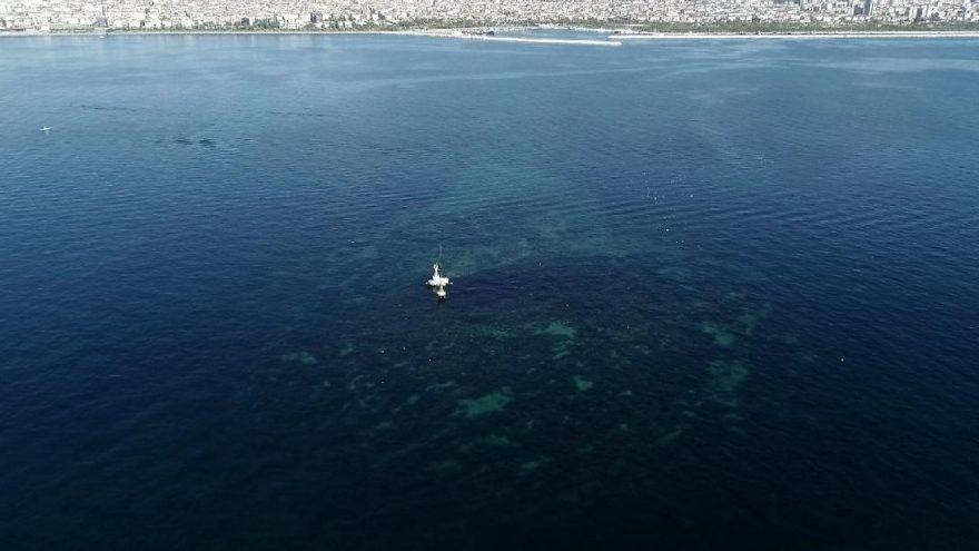 İstanbul'un kayıp adası ilk kez havadan görüntülendi