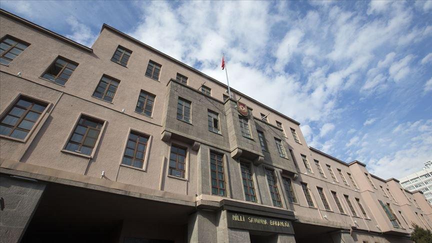 MSB açıkladı: Terör örgütünden 24 saatte 11 taciz