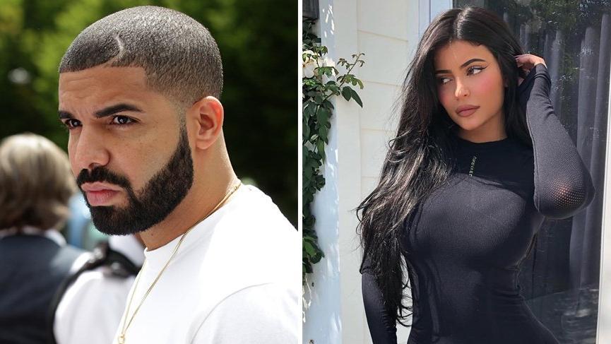 Kylie Jenner ile ünlü rapçi Drake aşk yaşıyor