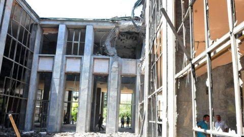 TBMM'de ilk bombanın düştüğü alana anıt yapılacak