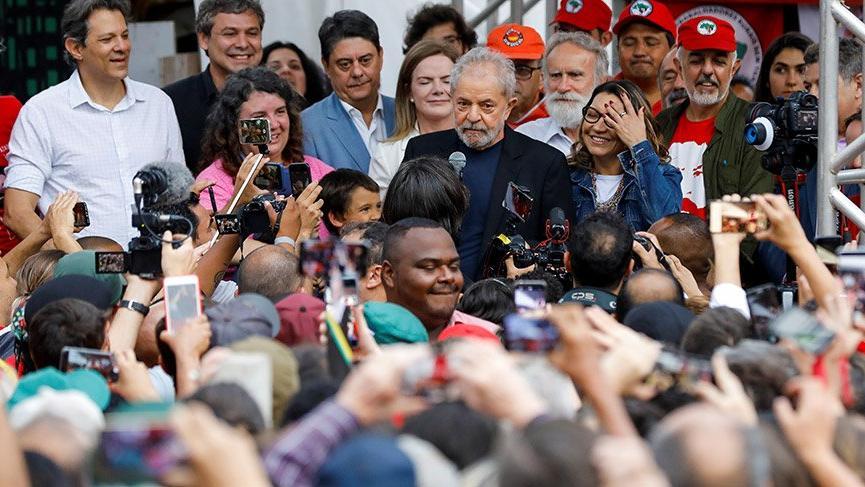 Eski Brezilya Devlet Başkanı Lula hakkında tahliye kararı
