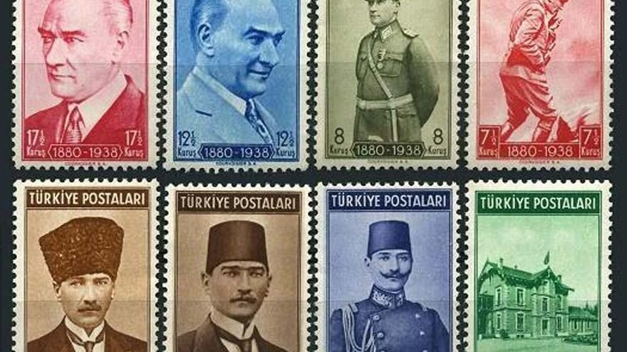 """""""Atatürk ve Cumhuriyet"""" pul sergisine büyük ilgi"""
