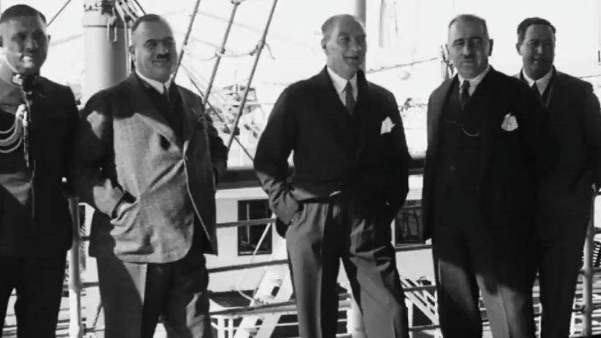 Atatürk'ün yeni görüntüleri