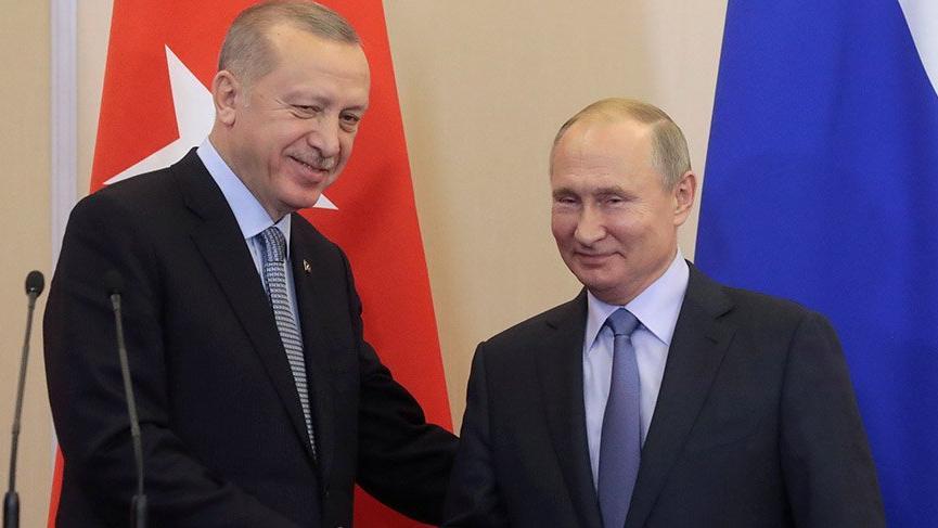 Erdoğan, Rus lider Putin ile görüştü!