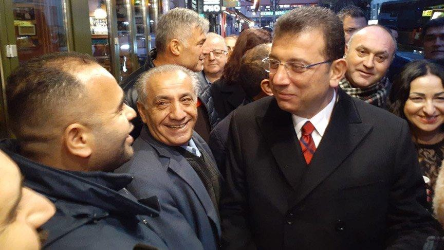İmamoğlu, Berlin turunu 'Küçük İstanbul'da noktaladı