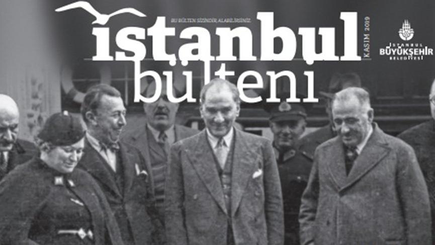 İBB'nin 12 yıldır çıkan dergisinde Atatürk ilk kez kapak oldu