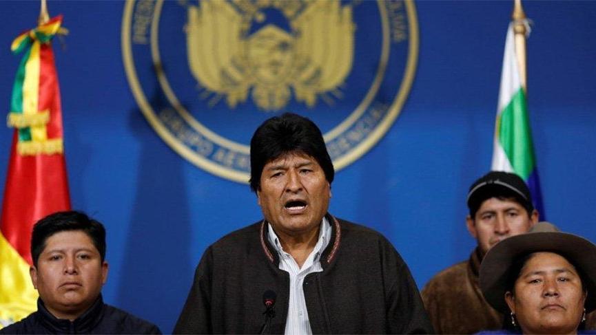 Son dakika... Bolivya'da flaş gelişme! Ordu istedi, Morales istifasını açıkladı