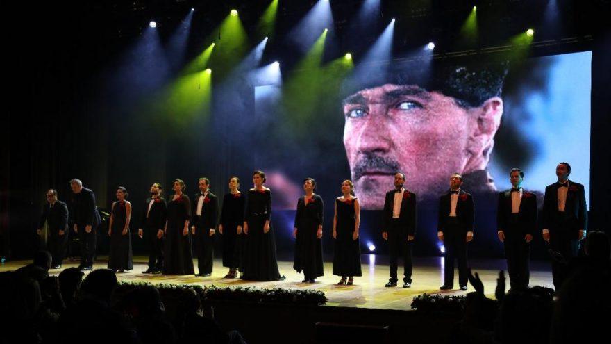 Mustafa Kemal Atatürk vefatının 81'inci yılında CRR'de anıldı