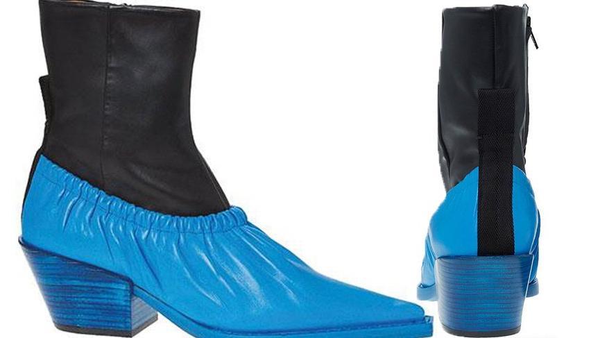 Joseph adlı markanın çıkardığı 'Galoş'a benzer botlar 4000 TL'ye satılıyor
