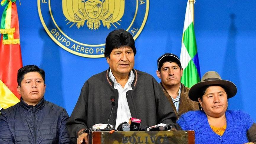 İstifa eden Bolivya lideri Morales ülkesinden ayrıldı