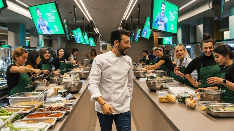 Şef Danilo Zanna, Pınar Chef'i seçti