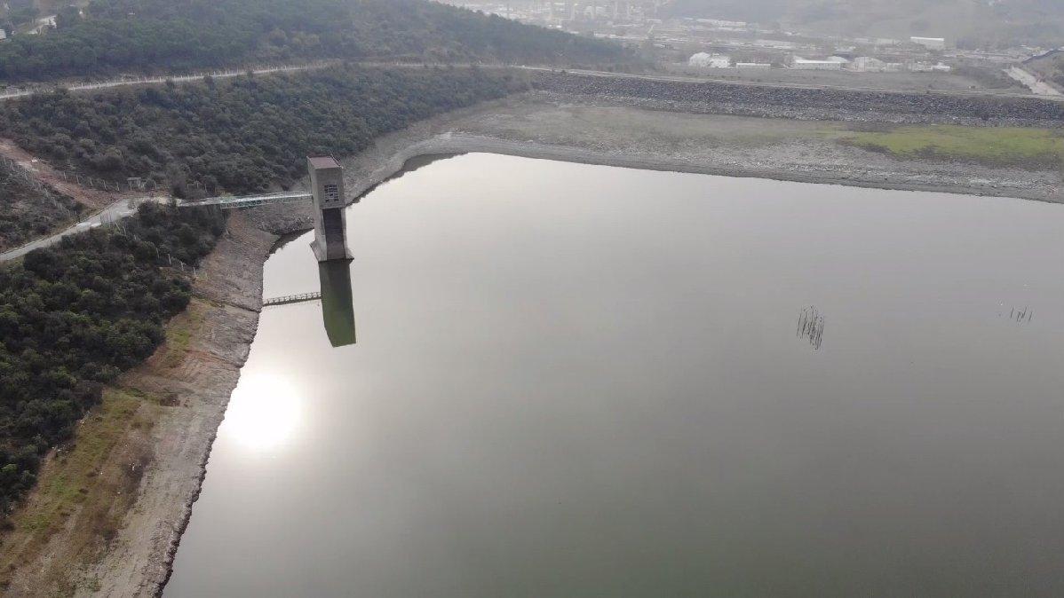 Alibeyköy Barajı 6 yılın dibinde
