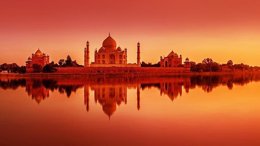 Tac Mahal: Hindistan'daki Türk-İslam mimarisi şaheseri