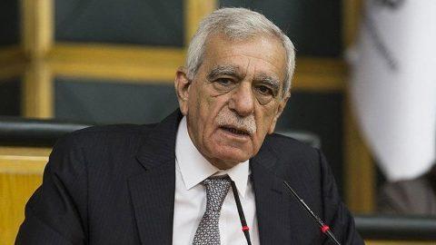 HDP'li Ahmet Türk hastaneye kaldırıldı!