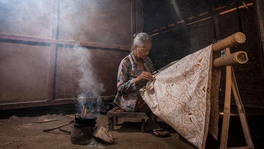 Endonezya'nın efsanevi kumaşı: Batik