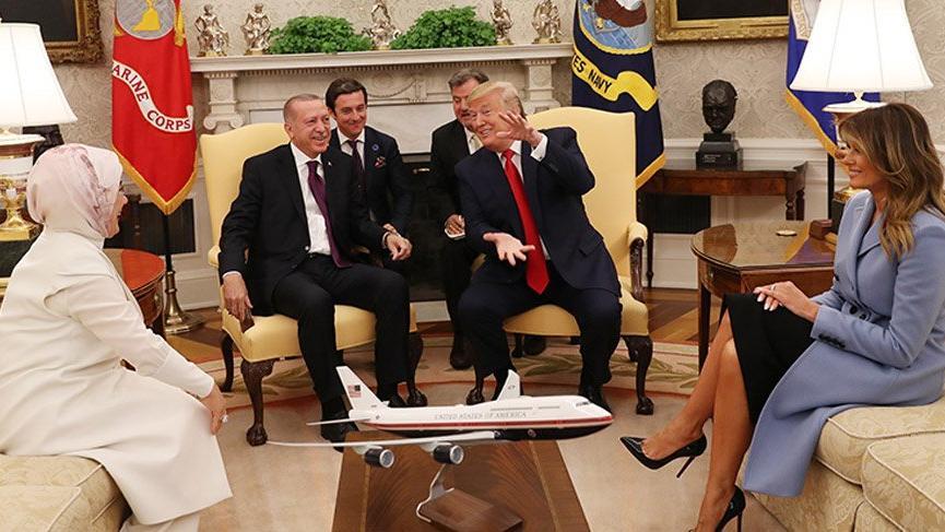 Kritik Erdoğan-Trump görüşmesi dünya basınında!