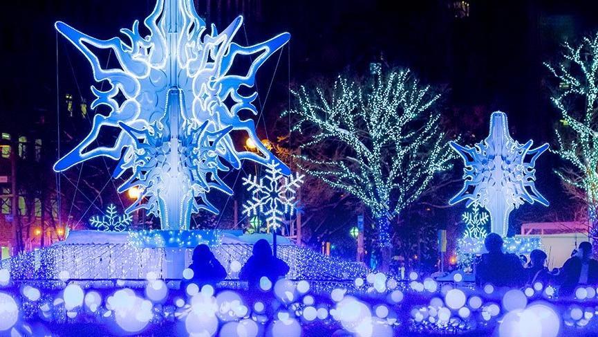 Japonya'da unutulmaz bir festival: Sapporo Kar Festivali