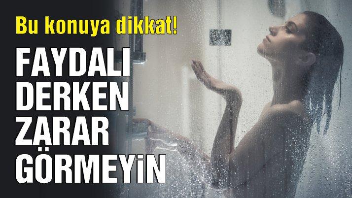 Soğuk duşun faydaları nelerdir?