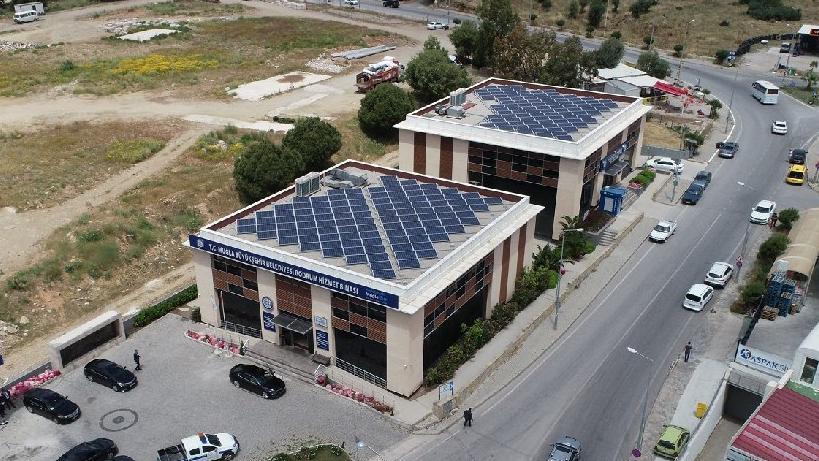 Bin eve güneş enerjili elektrik