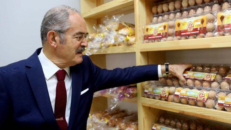 Halk Ekmek ve Halk Süt'ten sonra 'Halk Yumurta'