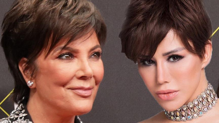Ceylan imaj değiştirdi, Kris Jenner'a benzetildi