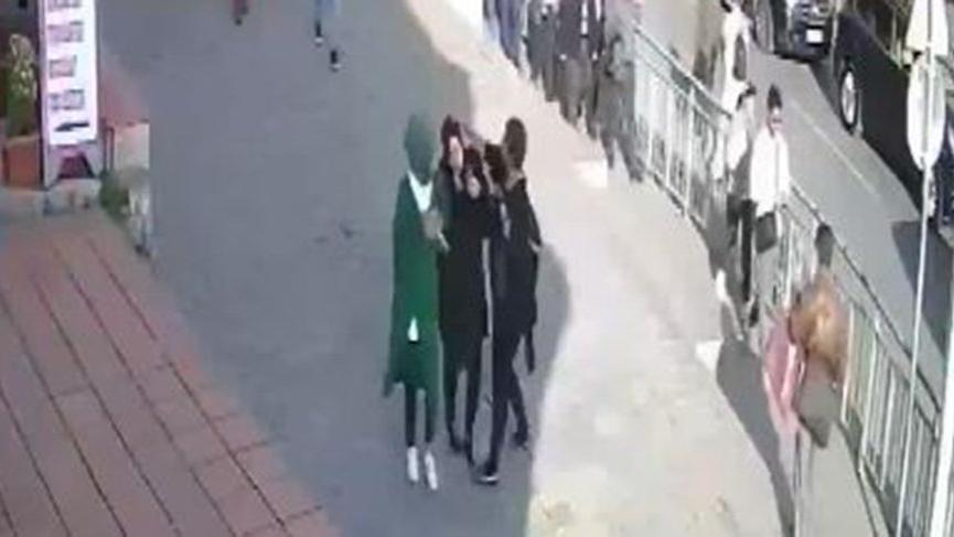 Karaköy'de tepki çeken saldırı!