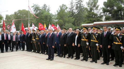 Kuzey Kıbrıs Türk Cumhuriyeti 36 yaşında!