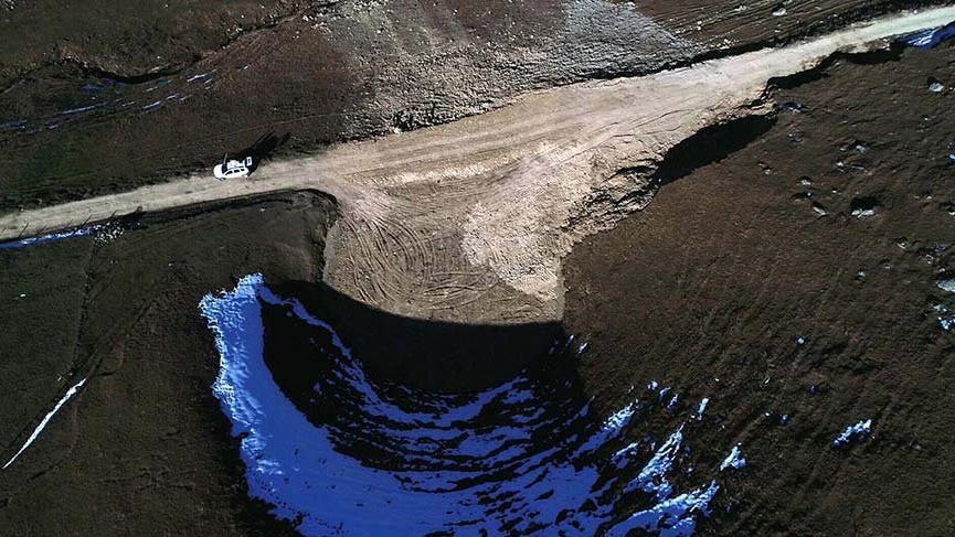 Valiliğin eski haline getirildiğini açıkladığı 'Dipsiz Göl' yok edildi!