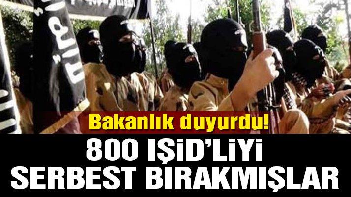 Son dakika… MSB duyurdu: PKK/YPG, 800 IŞİD'liyi serbest bıraktı