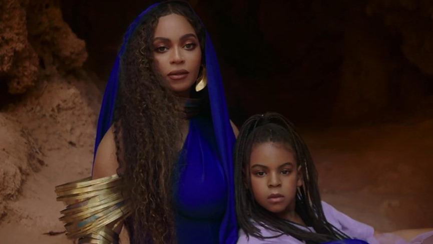 Beyonce'nin kızı Blue Ivy Carter, ödüllü bir şarkı yazarı oldu