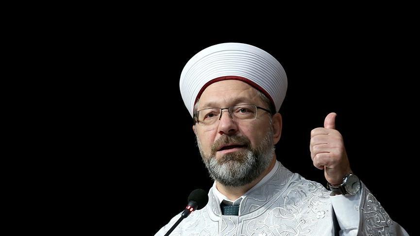 Diyanet İşleri Başkanı Erbaş: Milletimizin dinini korumak için…