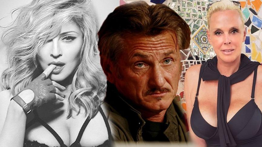 Brigitte Nielsen, Madonna'dan intikam almak için Sean Penn ile tek gecelik ilişki yaşamış