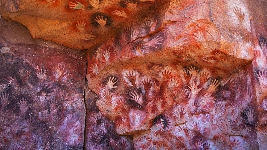 Görenleri hayrete düşüren 'Eller Mağarası'
