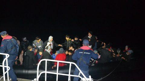 Balıkesir'de 90kaçak göçmen yakalandı