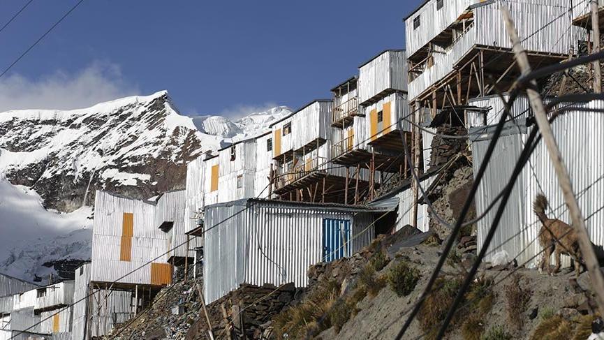 Dünyanın en yüksekteki yerleşim merkezi La Rinconada