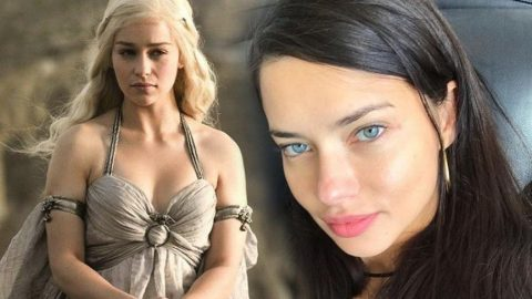 Yeni Khaleesi Adriana Lima oldu!