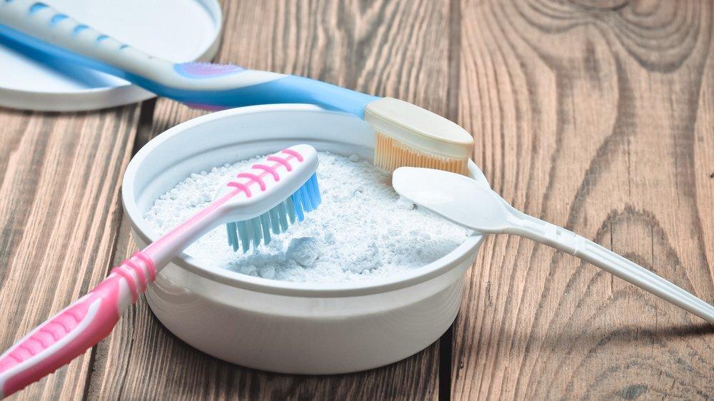 Karbonat ile diş beyazlatma tarifi…