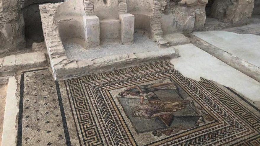 Antik kentte büyük kültür mirası: Muzalar Evi