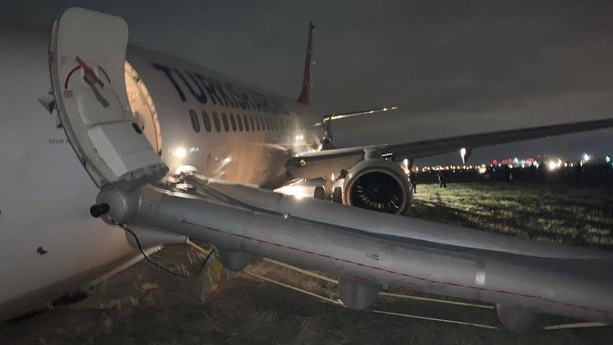Son dakika... THY uçağı Odessa'da faciadan döndü!