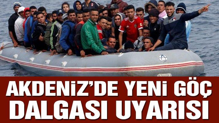 Uluslararası Göç Örgütünden Akdeniz'de yeni göç dalgası uyarısı