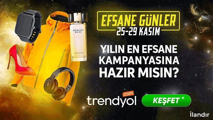 Trendyol Manşet Advertorial 23-24 Kasım'19