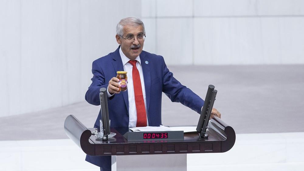 Meclis'teki 'sahte bal' tartışması: Kavanozlar karışmış