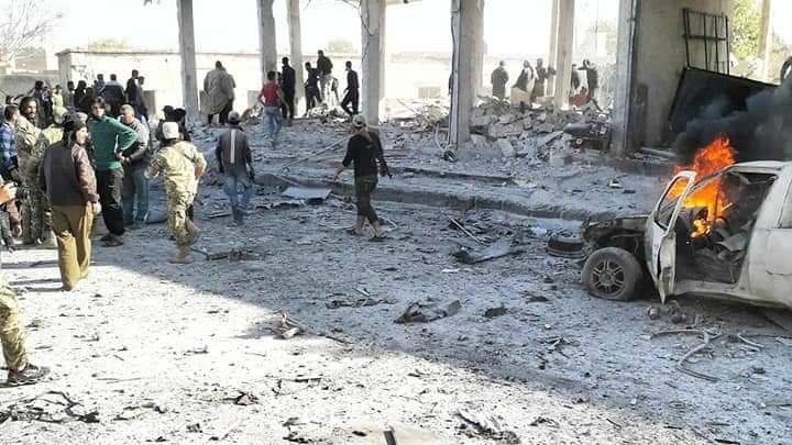 Tel Abyad'da bombalı saldırı: En az 14 ölü