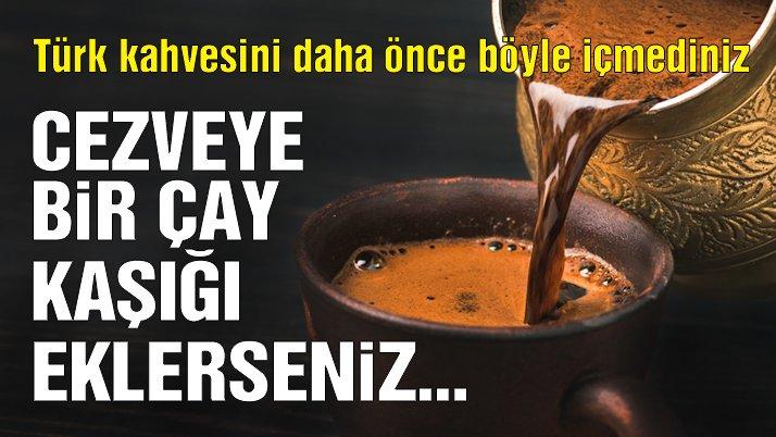 İşte köpüklü Türk kahvesinin ipuçları