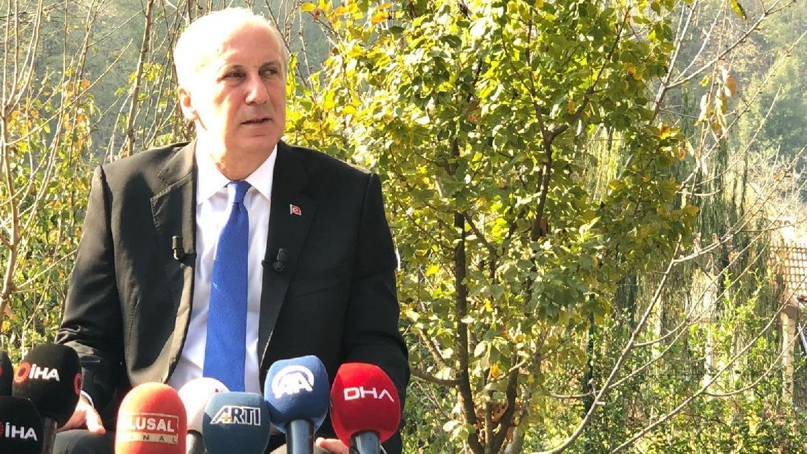 Muharrem İnce'den CHP lideri Kılıçdaroğlu'na çağrı