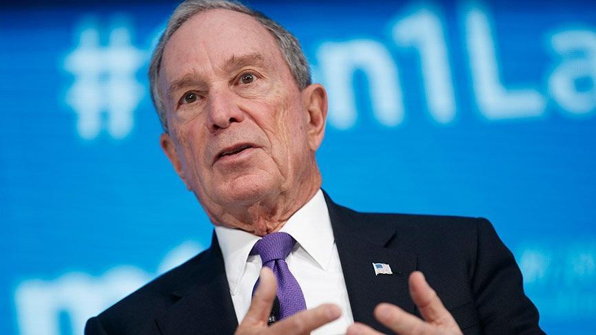ABD'li milyarder Bloomberg, 2020 başkanlık seçimleri için aday adayı