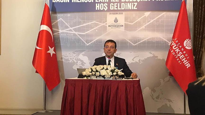 İmamoğlu'ndan 'Saray'a giden CHP'li' iddiasıyla ilgili açıklama