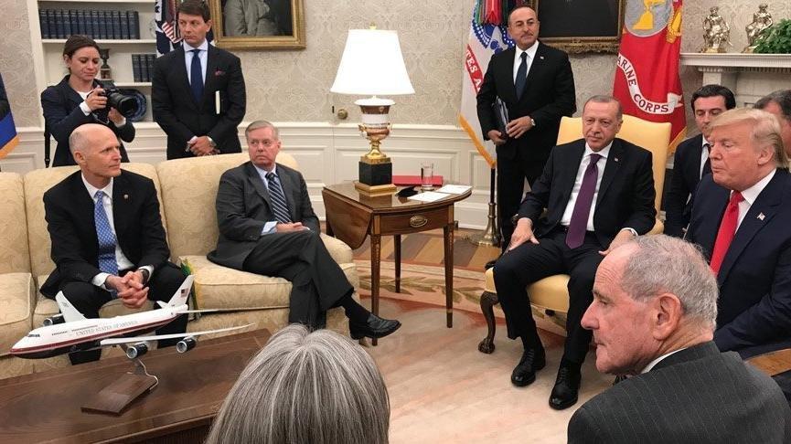Ve perde arkası ortaya çıktı: Erdoğan'la görüştükten sonra Beyaz Saray'dan ayrılırken...